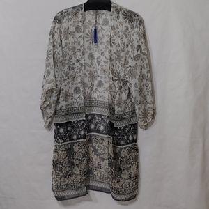 APT.9 Kimono Floral Print. One Size New Make Offer